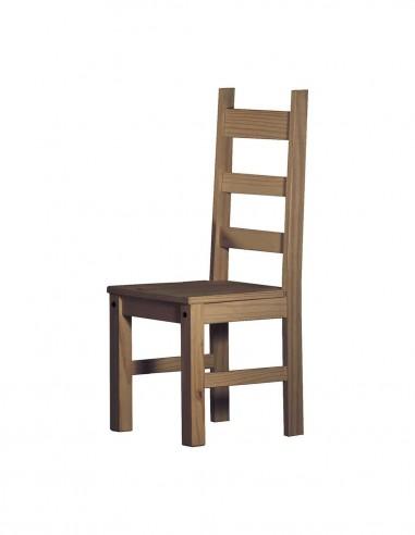Pack de 2 sillas de comedor en madera...