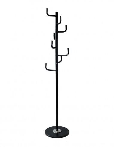 Perchero 176 x 37 cm. negro en Kit